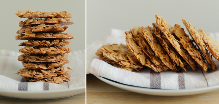 Almond & Orange Florentines » greenfigsandham